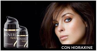 Toda la gama Skinergiè contiene Hidraxine para conseguir cosmética de alta calidad