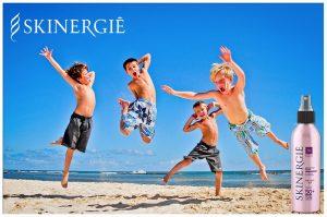 Protector solar Skinergiè niños con activador de Melanina e Hidraxine