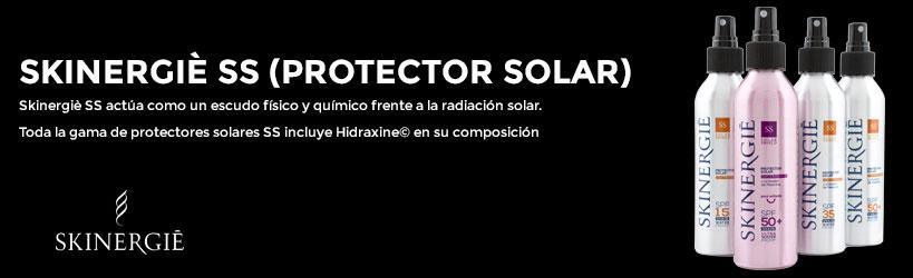 Protectores solares Skinergiè con activador de Melanina e Hidraxine