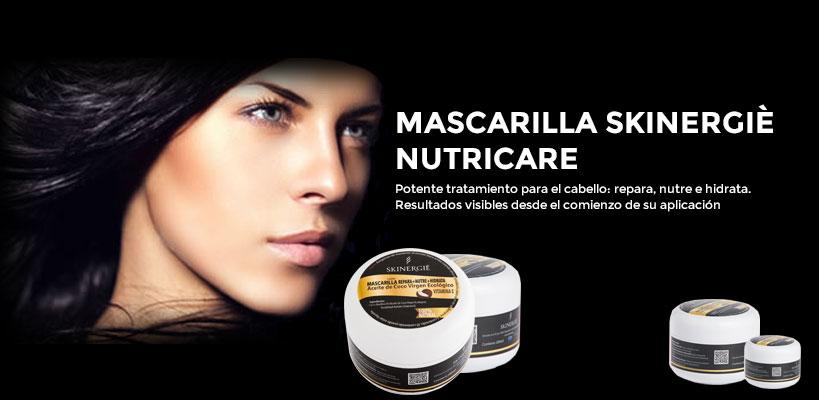 Mascarilla para el pelo Skinergiè Nutricare de alta cosmética. Lo mejor para el cuidado facial y personal al mejor precio