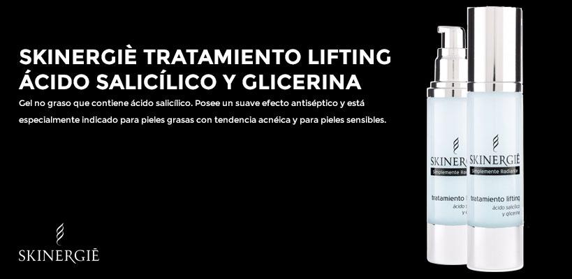 Tratamiento Lifting Skinergiè con ácido salicílico y glicerina