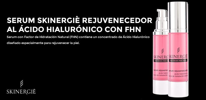 Serum Rejuvenecedor Skinergiè al ácido hialurónico con Factor de hidratación natural
